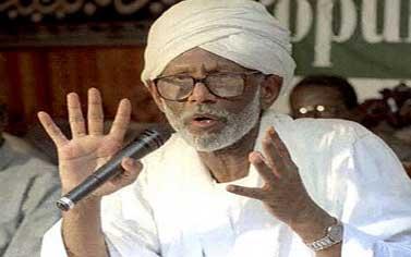 Хасан Ат-Тураби, лидер оппозиции Судана
