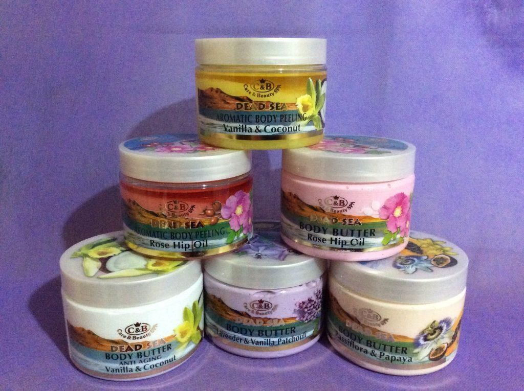Косметические масла и пилинги для тела